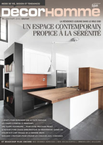 Decorhomme magazine printemps 2016 couverture