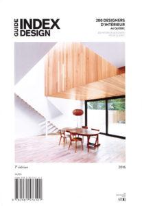 Guide Index Design Quebec 2016 couverture